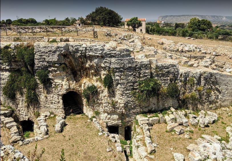 Castello Eurialo - Cunicoli