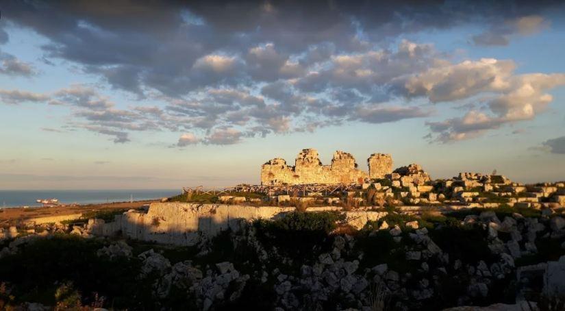 Veduta del Castello Eurialo - Siracusa