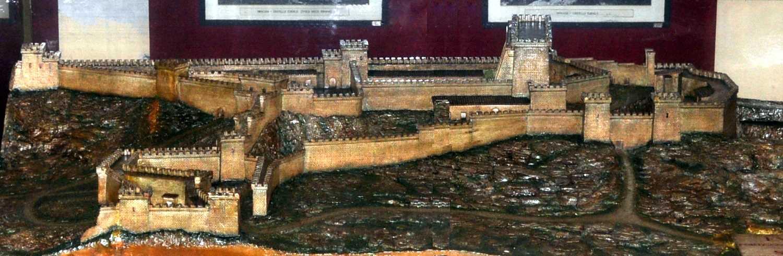 Ricostruzione del Castello Eurialo - Siracusa