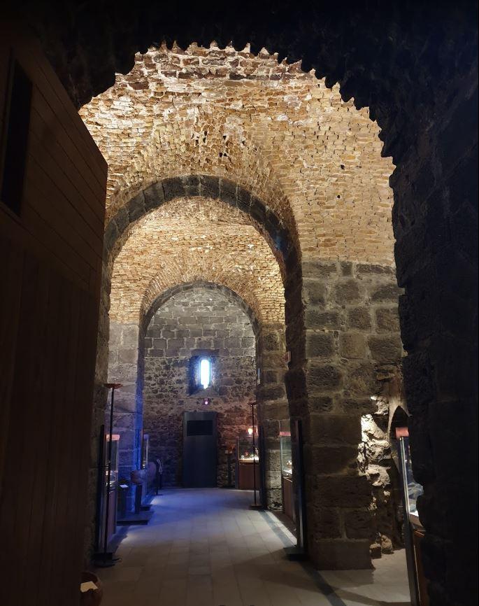 Sala del Museo - Castello di Adrano