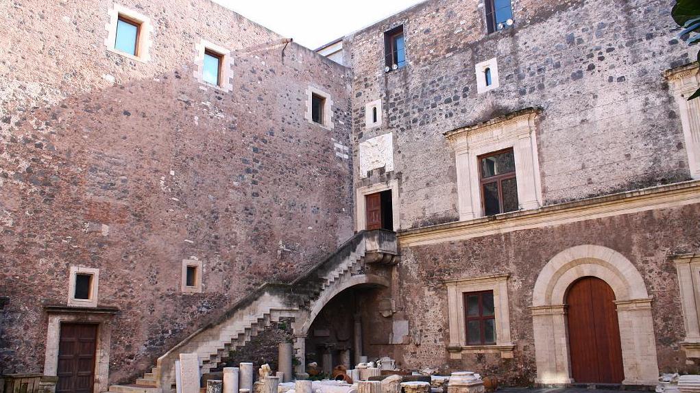 Corte Interna del Castello Ursino - Catania
