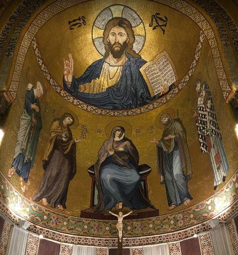 Cristo Pantocrator , Cappella Palatina - Palermo